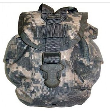 GI Issue Molle 1 Quart General Purpose Canteen Pouch ACU