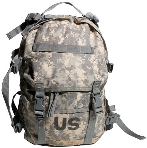 GI Issue MOLLE II SDS ACU Assault Pack 3 Day Backpack - Riley Stove b986bec7ebb