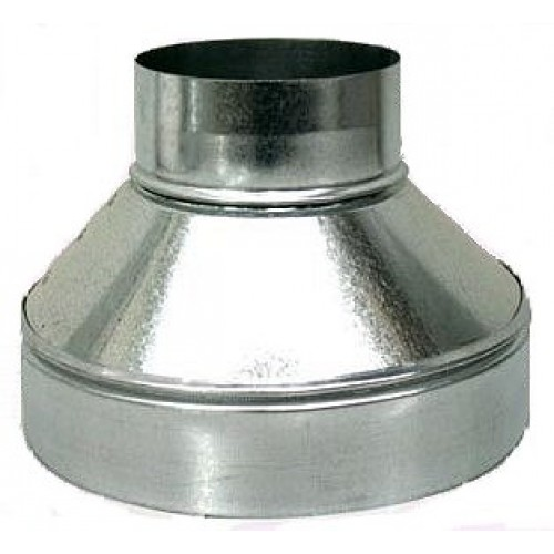 Riley Stove Stove Pipe Reducer 4 Inch