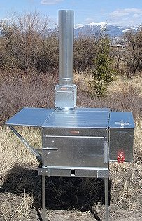 Riley Stove Trail Boss Wood Burning Camp Stove