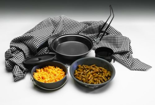 Texsport Hard Anodized Non-Stick Pathfinder Mess Kit