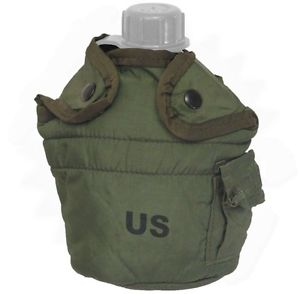 US GI Issue Canteen Cover 1 QT Green
