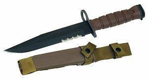 GI Issue USMC Ontario Knife M7 Bayonet System (Tan)