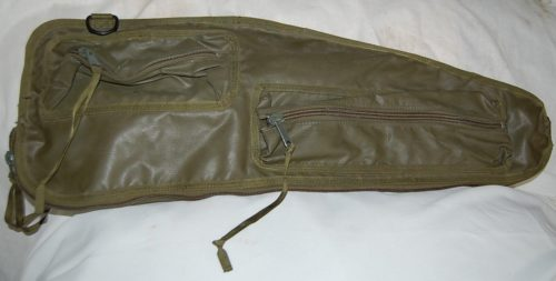 GI Issue Machine Gun Spare Barrel Bag OD Green