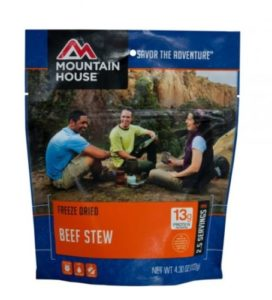 Mountain House Freeze Dried Beef Stew 2.5 Servings