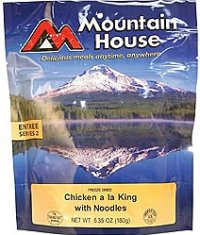 Mountain House Freeze Dried Chicken a la King 2 Servings