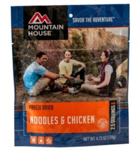 Mountain House Freeze Dried Noodles & Chicken 2.5 Servings