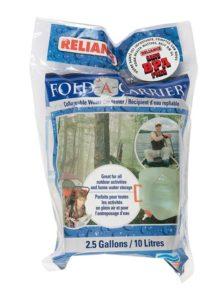 Reliance Fold A Carrier 2.5 Gallon