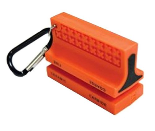 Ultimate Survival Sabercut Ceramic Knife Sharpener – Orange