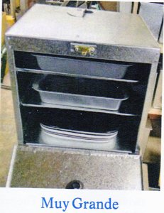 Riley Stove Muy Grande Warming or Side Oven