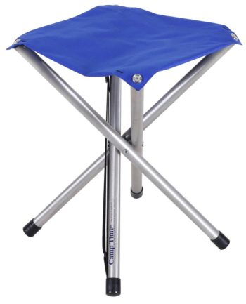 Camp Time Roll A Jumbo Stool 4 Legs 19″
