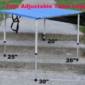 Camp Time Roll A Table with Adjustable Legs